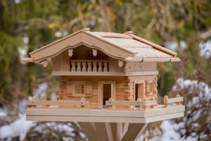 vogelhaus selber bauen - bauanleitung schritt für schritt, Moderne
