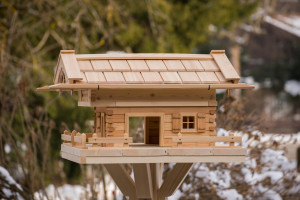 Großes Vogelhaus - Typ Linden